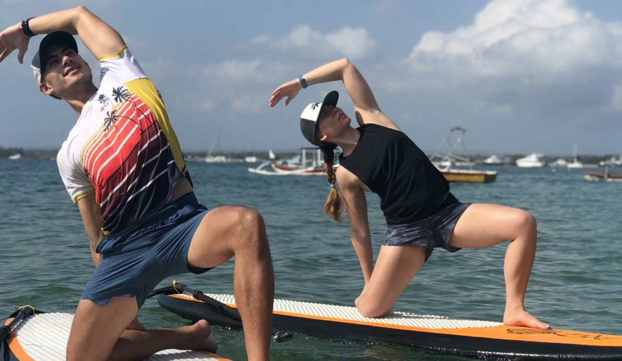 Enjoy the New Challenge of Practicing Yoga on a Stand Up Paddle Board