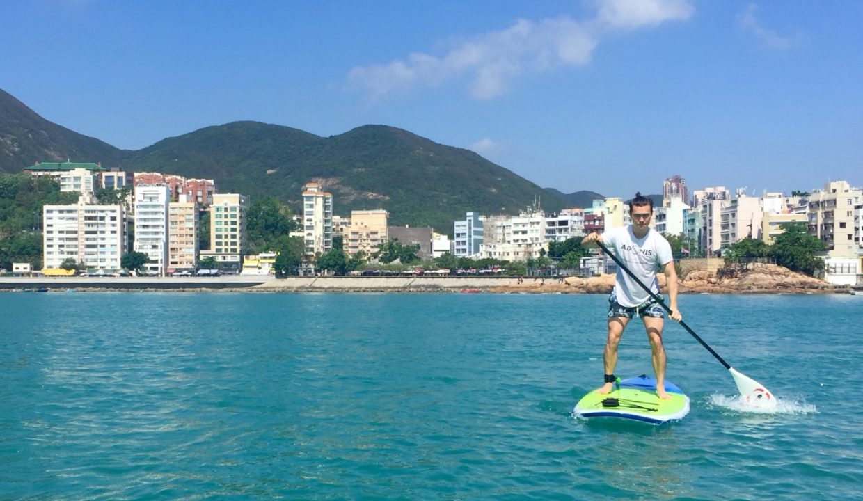 Paddle in Stanley Bay Conveniently Located a Short Bus Ride from Central