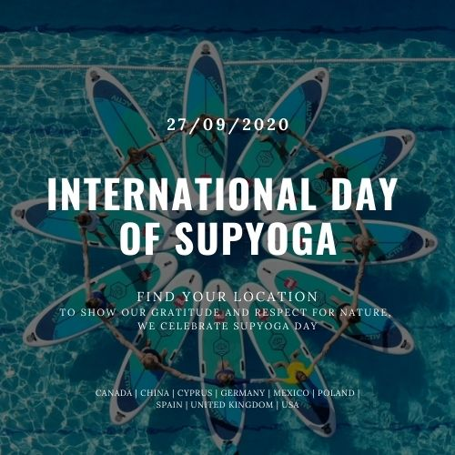 International day of SUP Yoga