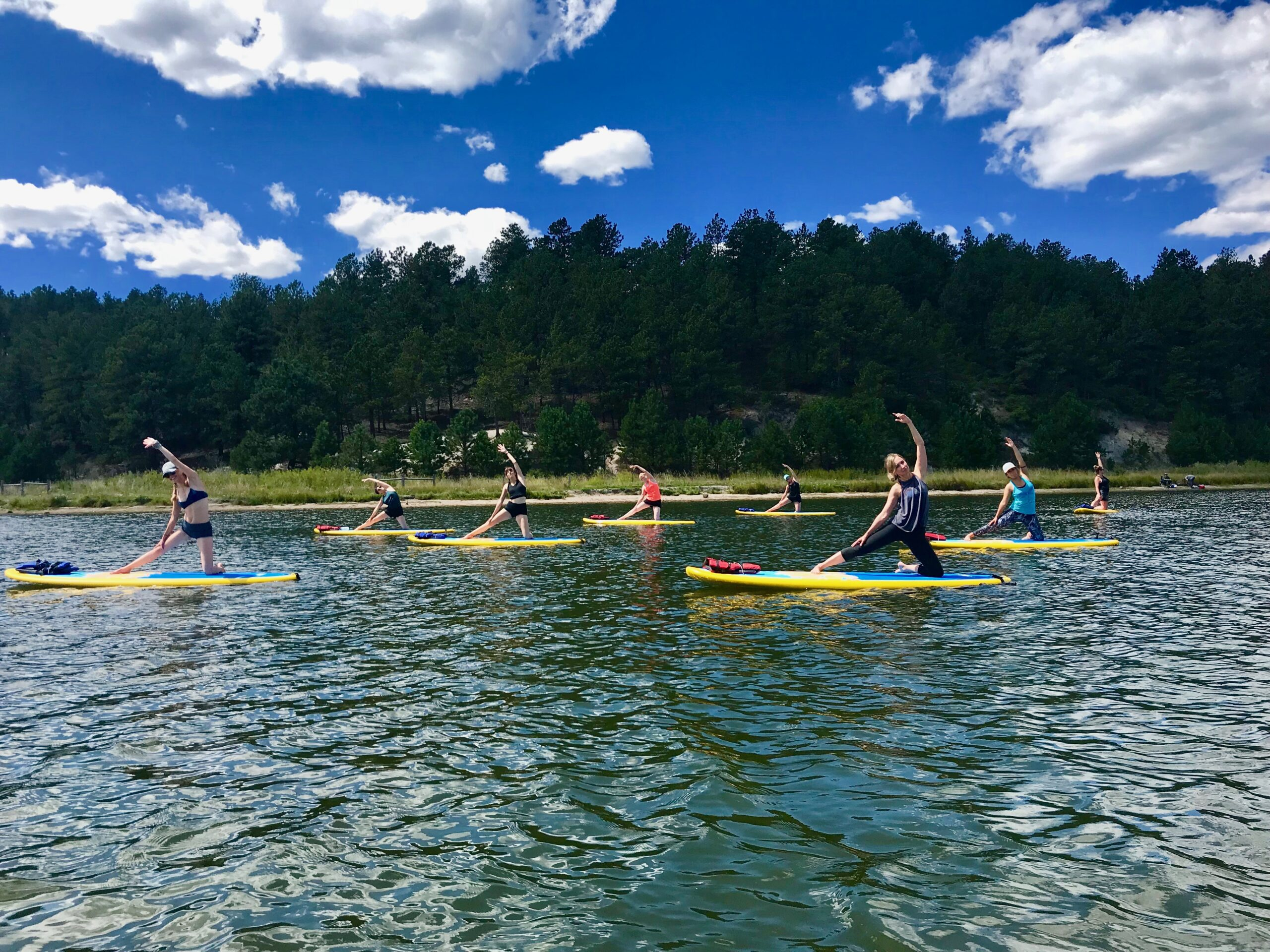 Dragonfly Paddle Yoga – Monument Lake, Monument, CO